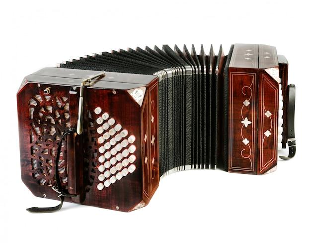 Bandonéon, instrument de tango