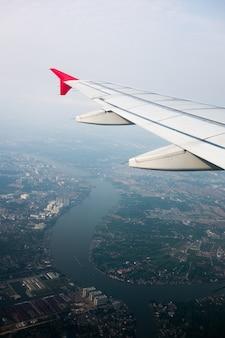 Bangkok, thaïlande vue d'oiseau