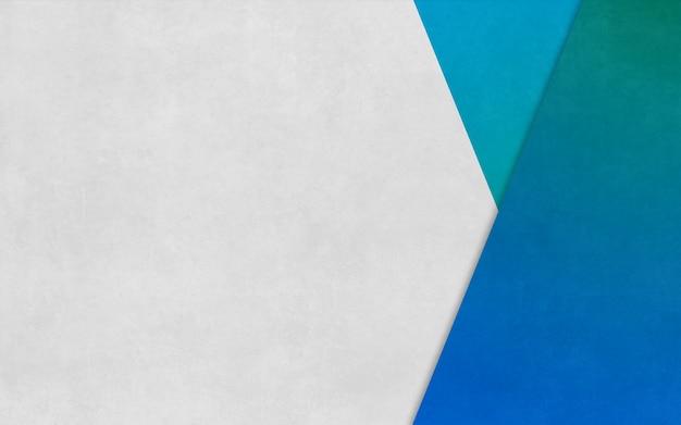 Bannière d'affaires de fond de texture de papier en boîte triangle bleu vif