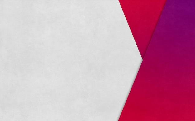 Bannière d'affaires de fond de texture de papier en boîte triangle rose vif