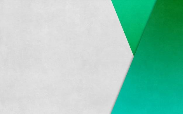Bannière d'affaires de fond de texture de papier en boîte triangle vert vif