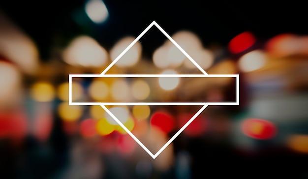 Bannière badge étiquette blank copy space concept