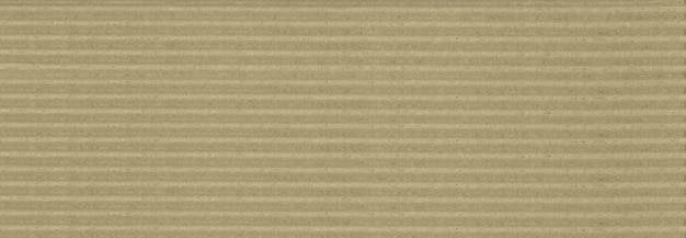 Bannière de fond de texture en carton ondulé marron