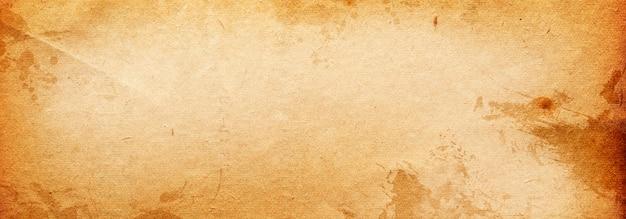 Bannière de fond vintage texture vieux papier