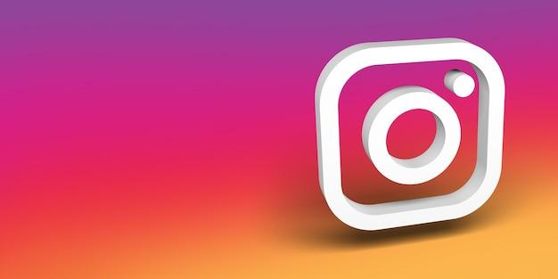 Bannière de logo de médias sociaux