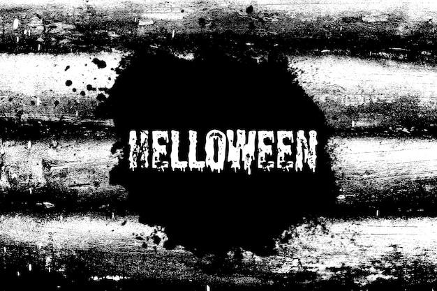 Bannière noire sur un fond abstrait. vacances d'halloween. photo de haute qualité