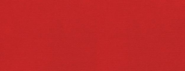 Bannière de surface de texture de toile rouge