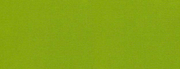 Bannière de surface de texture de toile verte