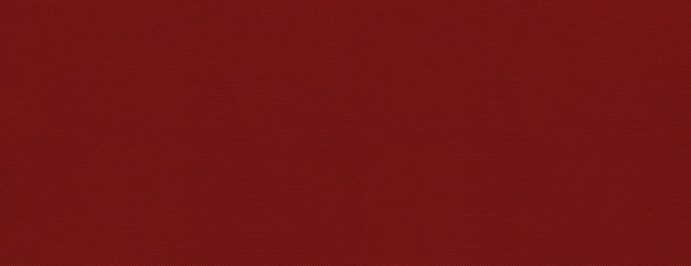 Bannière de texture de toile rouge