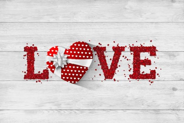 Bannière web festive pour la saint-valentin
