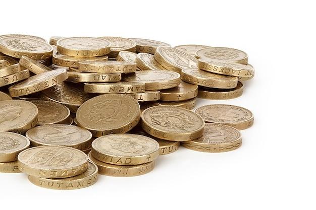 Banque d'affaires notion argent cash dépôts en devises