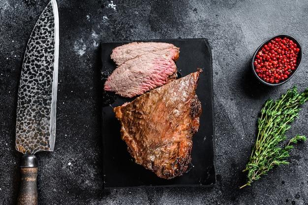 Barbecue de steak à trois pointes de rosbif.