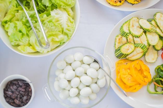 Barbecues aux légumes