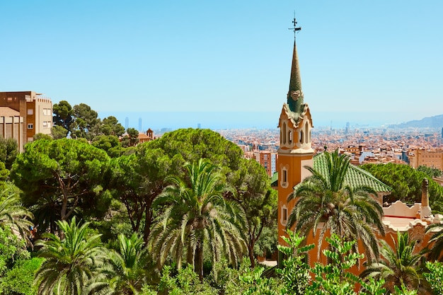 Barcelone. parc guell.