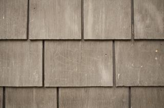 Bardage en bois texturé