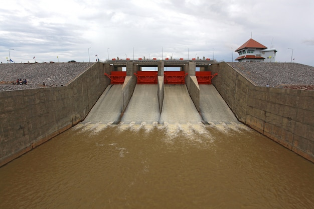 Barrage des portes d'eau