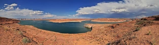 Barrage sur la rivière colorado en arizona paige usa