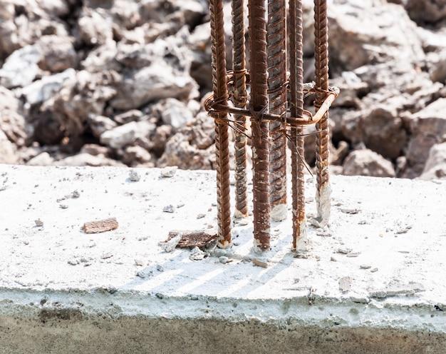 Barres d'acier déformées