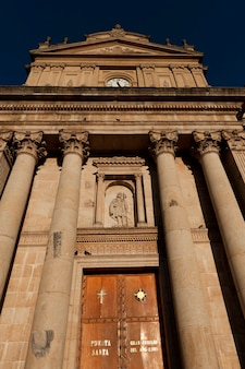 Bas affichage angle, de, les, métropolitain, cathédrale, zona 1, guatemala, guatemala