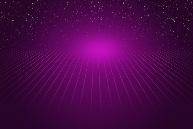 Base de données texturée lilas futuriste avec des lignes.