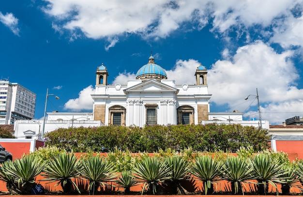 La basilique métropolitaine de la cathédrale holy church de santiago du guatemala