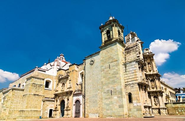 La basilique de notre-dame de la solitude, une église catholique romaine à oaxaca de juarez, mexique