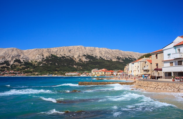 Baska, croatie