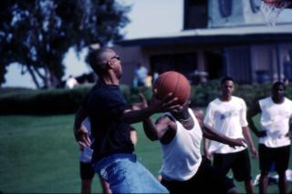 Basket-ball cerceau