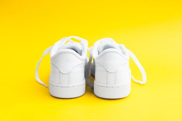 Baskets décontractées blanches élégantes pour femmes