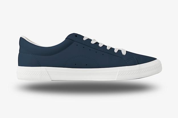 Baskets en toile bleu marine mode chaussures unisexes