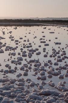 Bassins d'évaporation saline