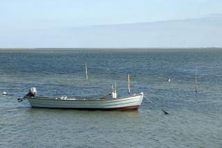 Bateau à la mer