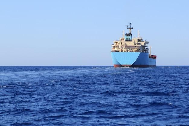 Bateau de transport de produits chimiques pétrolier offshore