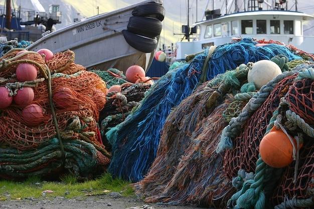 Bateaux bateaux du port néerlandais alaska côte dock