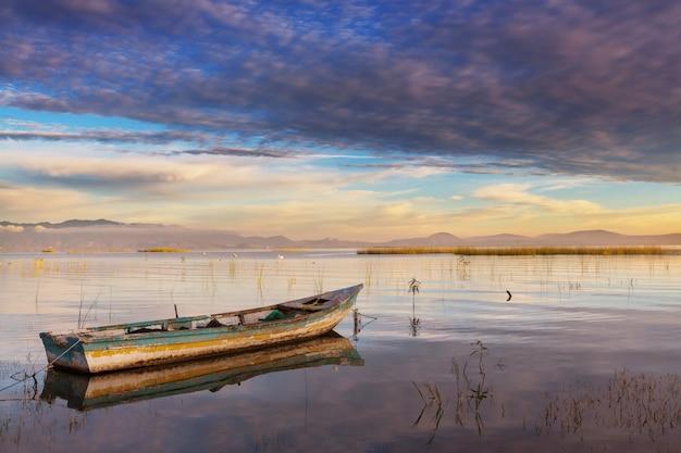 Bateaux de pêche au mexique
