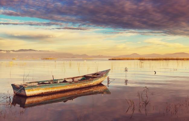 Les bateaux de pêche au mexique