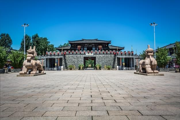 Bâtiment ancien de la chine