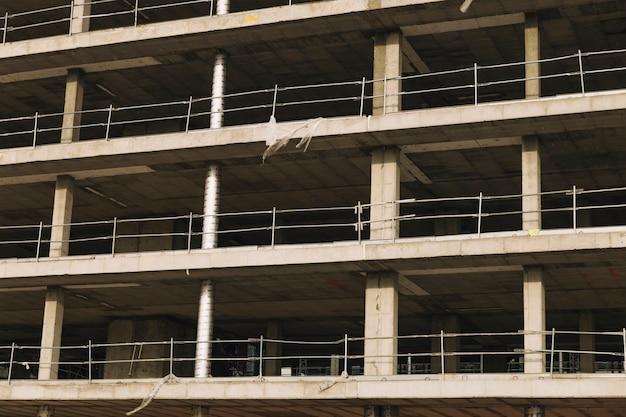 Bâtiment en construction