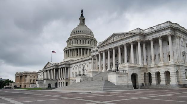 Le bâtiment du capitole des états-unis à washington dc, états-unis d'amérique