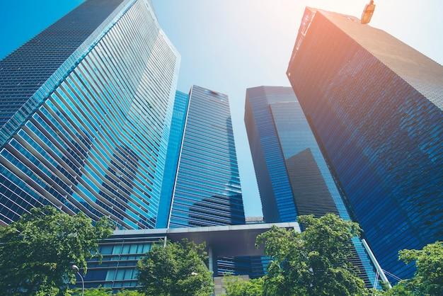 Bâtiment moderne, bâtiment d'entreprise