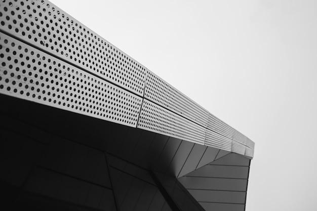 Bâtiment moderne métallique