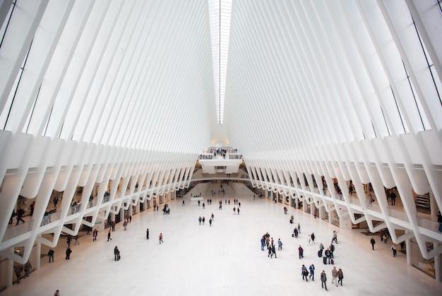 Le bâtiment oculus