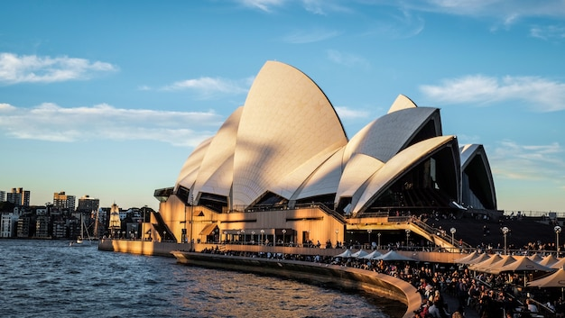 Bâtiment de l'opéra de sydney