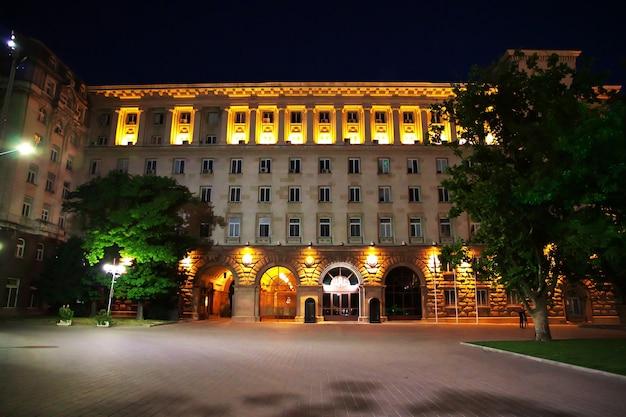 Bâtiment de la présidence, sofia, bulgarie