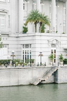 Bâtiment de style colonial