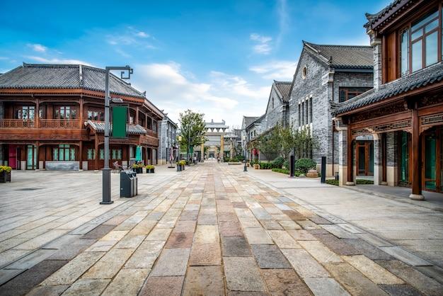 Bâtiment de la ville antique de jimo street