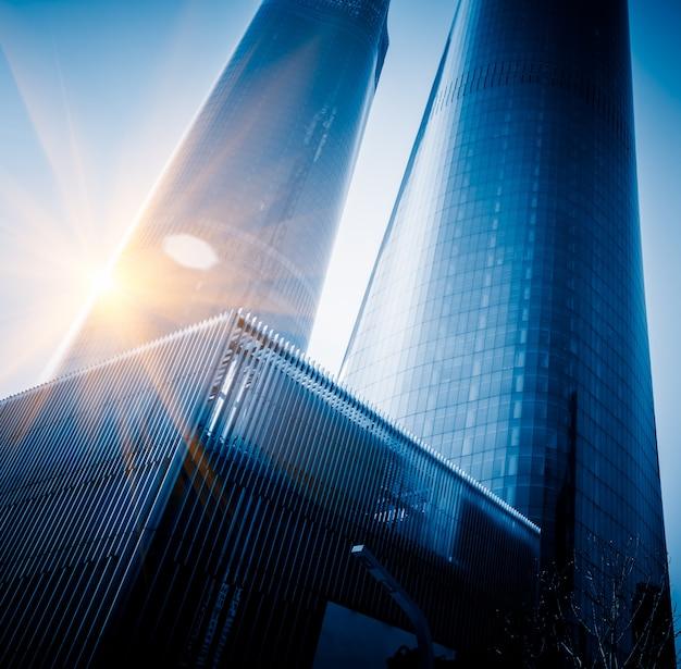 Bâtiments d'affaires modernes dans le quartier financier