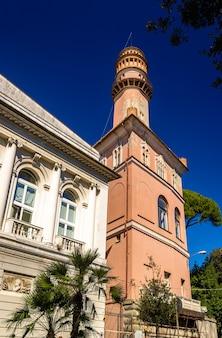 Bâtiments dans le centre-ville de gênes - italie