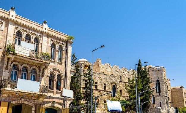 Bâtiments dans le centre-ville de jérusalem - israël