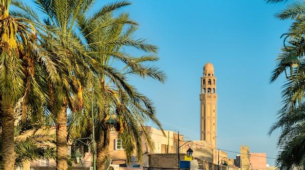 Bâtiments dans la médina de tozeur tunisie